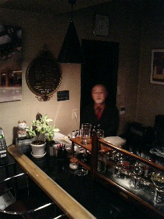 津和野の鯉と天津恵さんの喫茶店