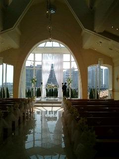 横浜のある結婚式場です