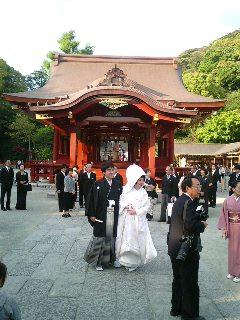 人力車の結婚式