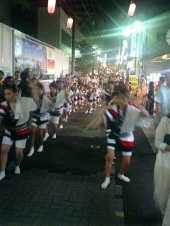 北浦和阿波踊り1