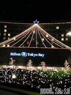 ヒルトン東京ベイのイルミネーションなど